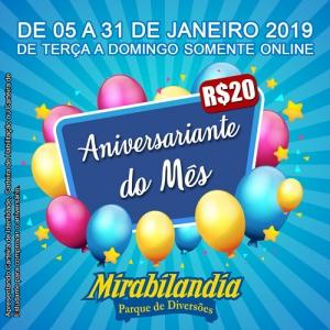 Aniversariante Janeiro 2019