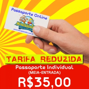 Passaporte Tarifa Reduzida SET Meia